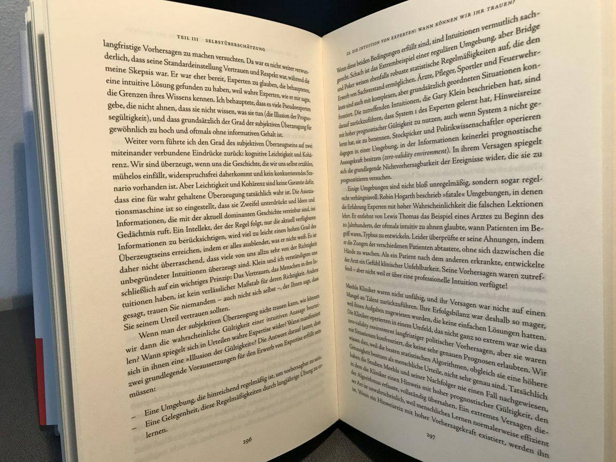 Zwei Buchseiten voll mit Text beschrieben